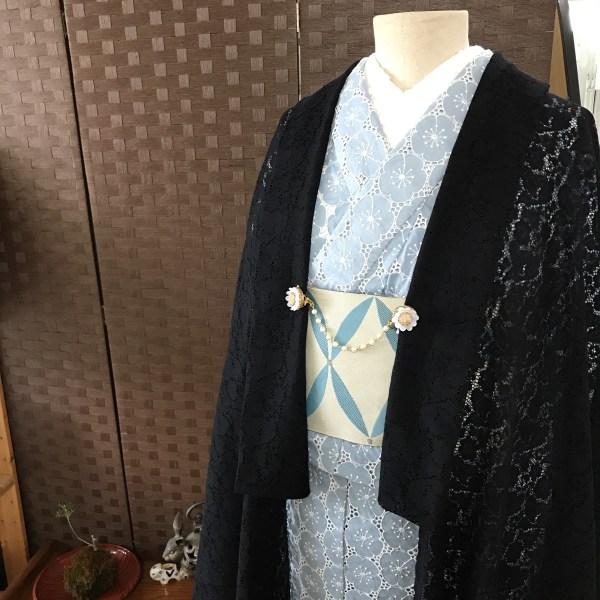 レースの羽織物1
