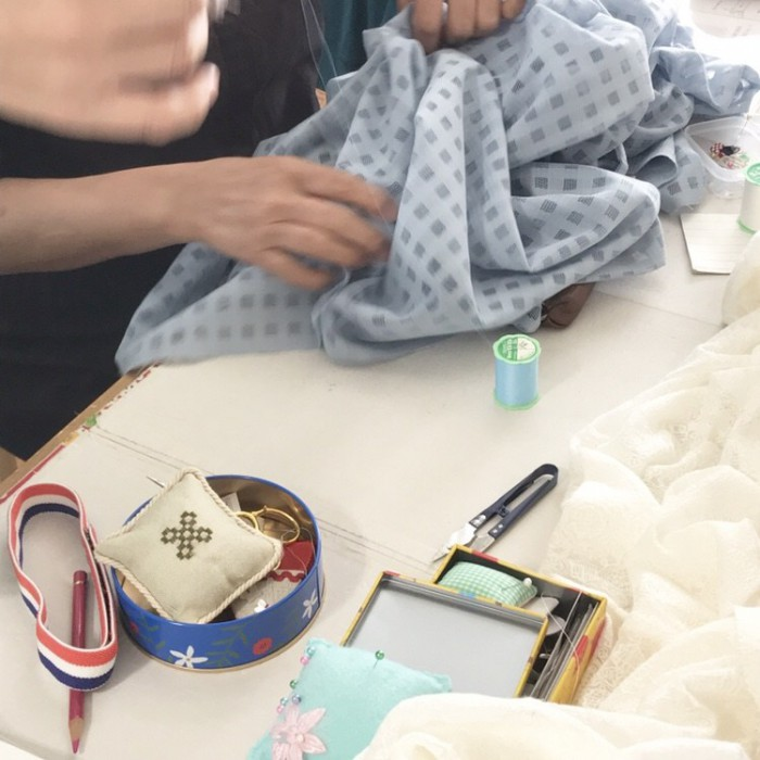 レースの羽織物3